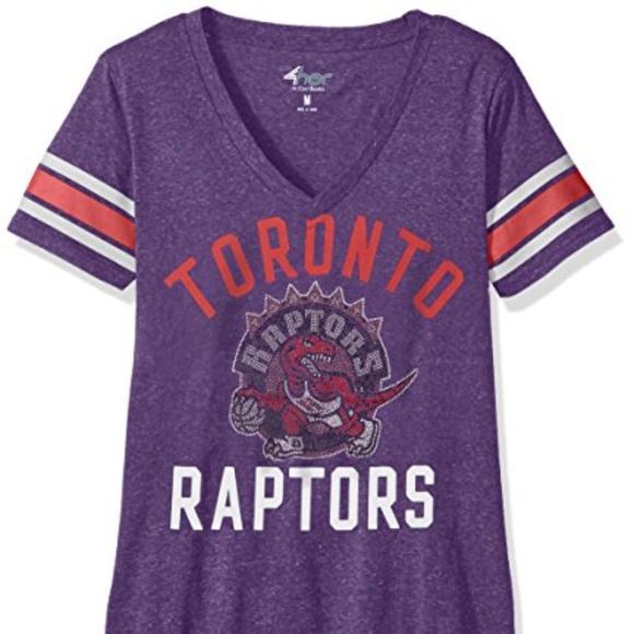 best sneakers 5549e 18856 NBA Toronto Raptors Women's The Big Game Tee NWT